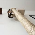 Вертикальный столб-когтеточка