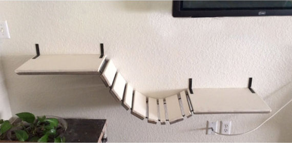 Мост для кошек «Прогулочный» + джут